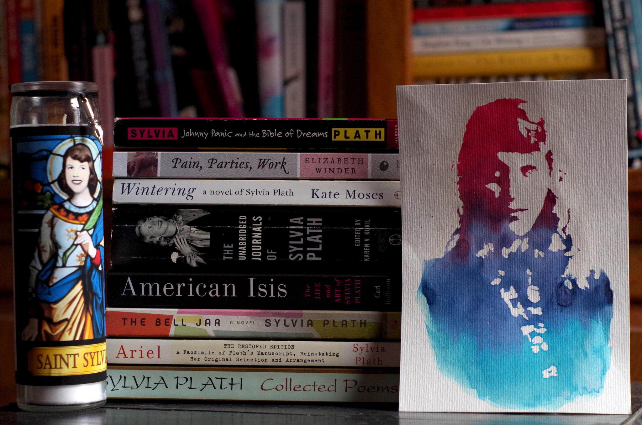 La mercantilización del suicidio de Sylvia Plath en España