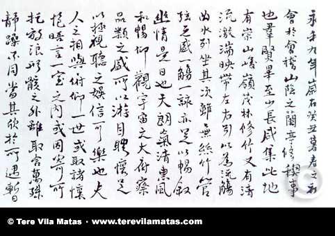 13 preguntas y una poeta, Tere Vila Matas: «La simplicidad tan compleja de la caligrafía y el diálogo entre el lleno y el vacío me apasionaron»
