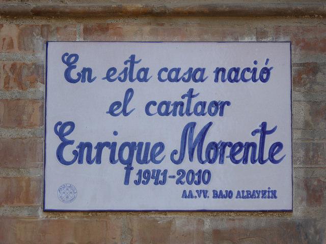 Enrique Morente, flamenco y poesía