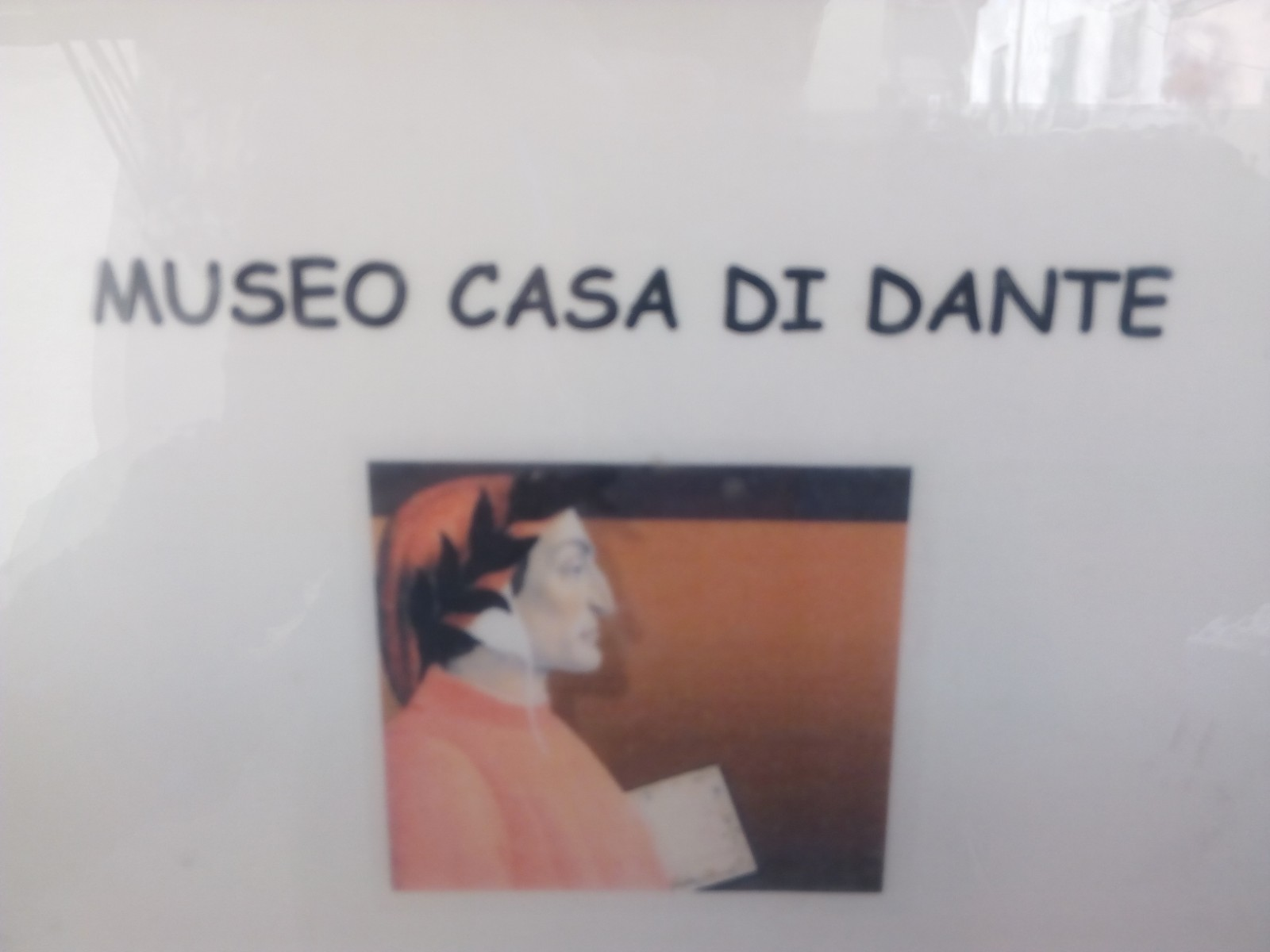Poémame visita al poeta Dante Alighieri