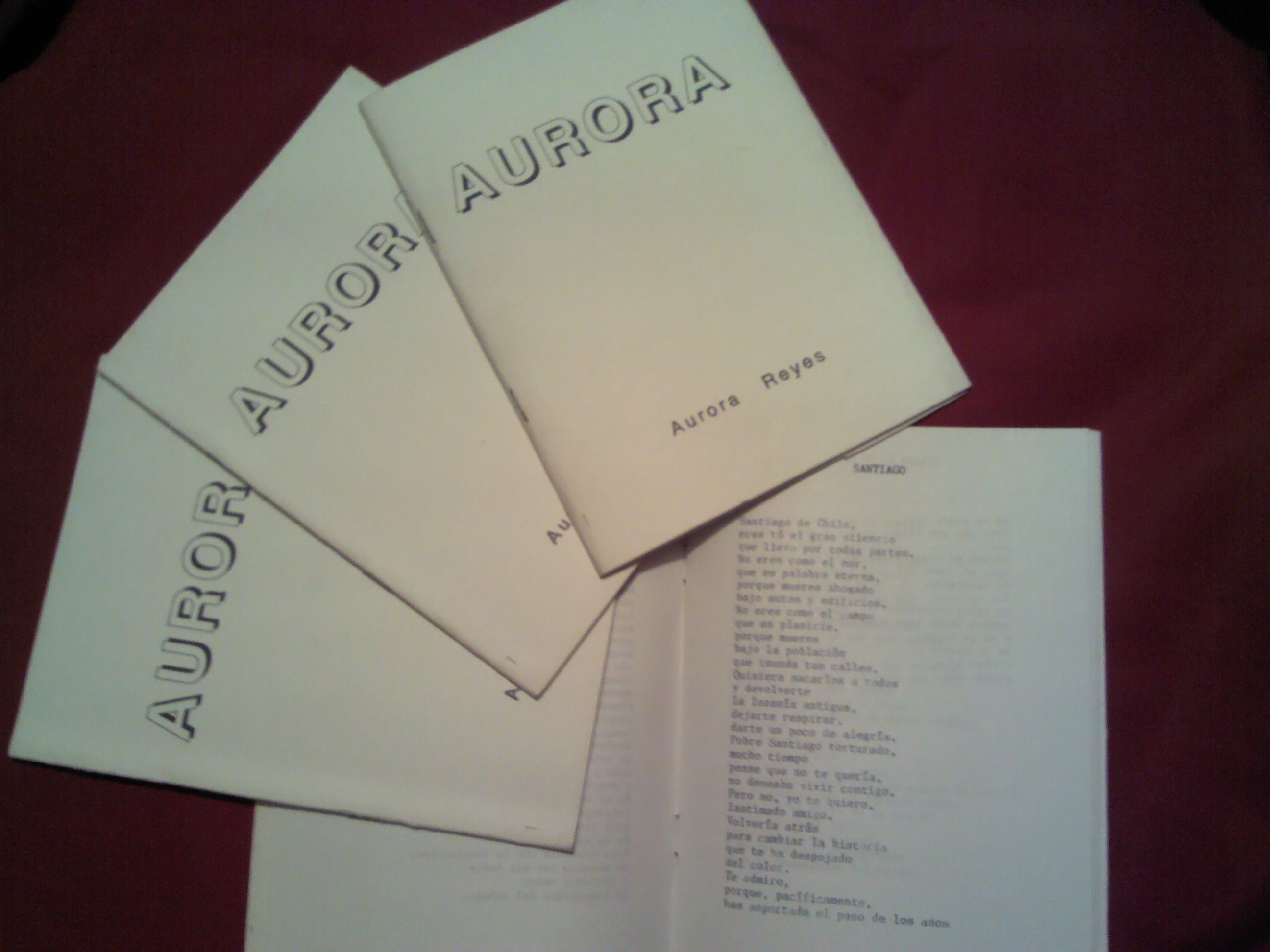 13 preguntas y una poeta, Aurora Reyes: «Busquen y alimenten su poesía con las letras de otros autores y aprendan todo lo que puedan»