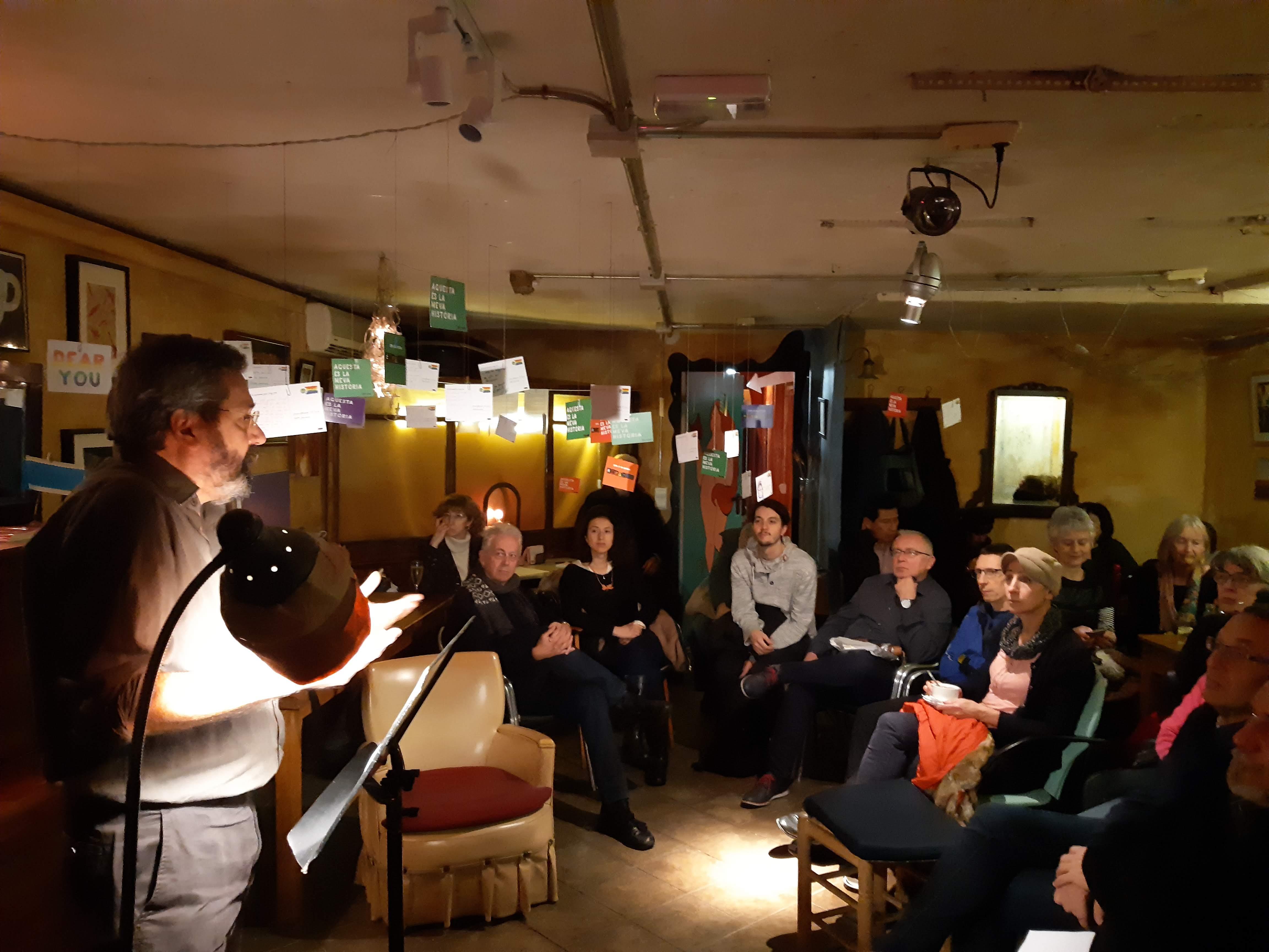 Crónica del II recital poético trilingüe Poémame en el Raval de Barcelona