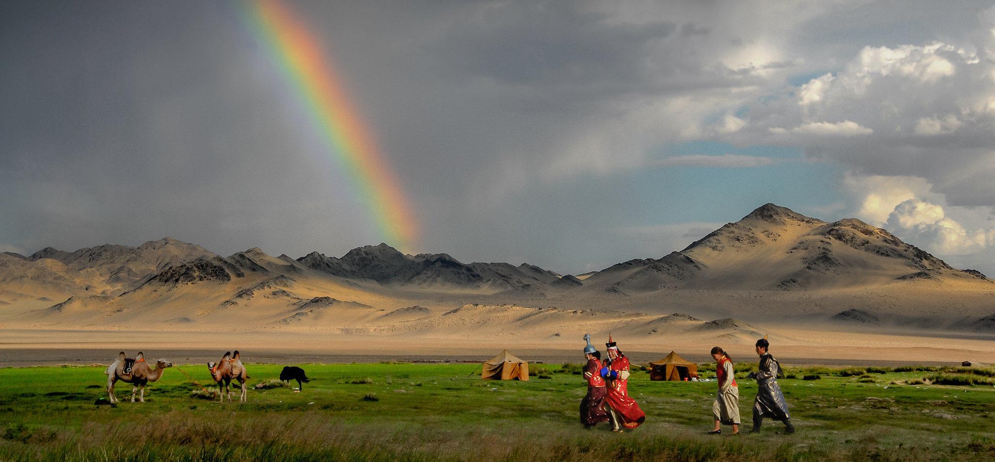 5 poemas de Hadaa Sendoo, poeta mongol