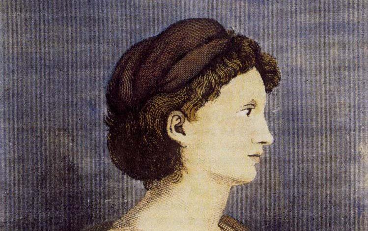 5 poemas de Karoline Günderrode, «Tian»