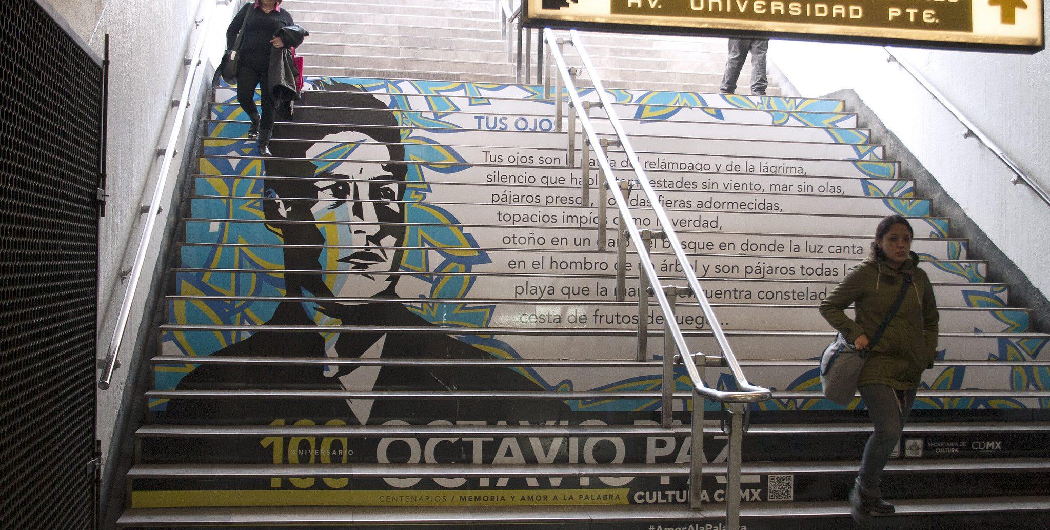 5 poemas de Octavio Paz: Escribir como un acto mental, verbal y físico