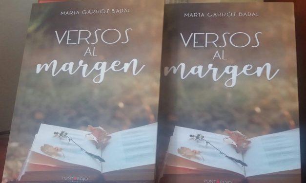 Versos al margen, de Marta Garrós. (Punto Rojo Libros, 2019)