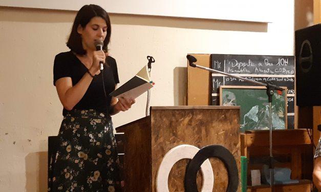 13 preguntas y una poeta, Carla Fajardo: