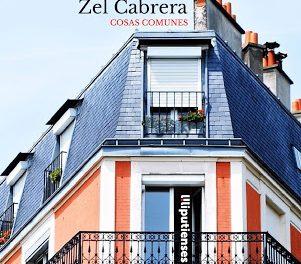 'Cosas comunes' de Zel Cabrera (Ed. Liliputienses, 2020)