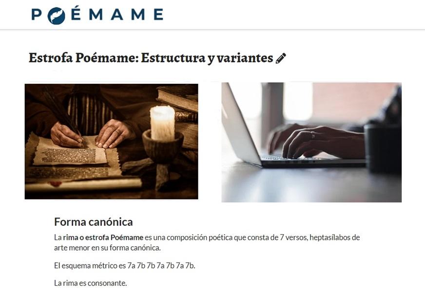 Poémame ya es poesía: Descubre la Rima Poémame