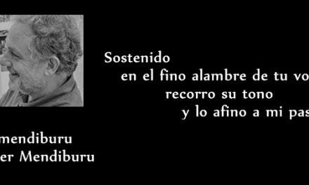 """Javier Mendiburu : """" Escribo poesía para recordarme"""""""
