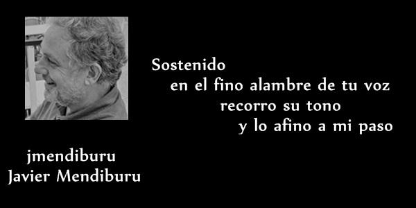 """Javier Mendiburu: """"Escribo poesía para recordarme"""""""